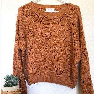 Sweaters - Burnt Orange Sweater